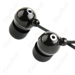 NoName наушники — Simple 3.5mm In-Ear Metal Stereo Earphones Headphones Headset Earpiece for MP3 MP4 CD Player CHS-39584