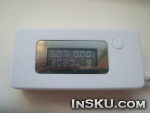 Mini USB Hub LCD Backlight Display USB Phone Mobile Power Voltage Current Tester Meter Monitor Detector. Обзор на InSKU.com