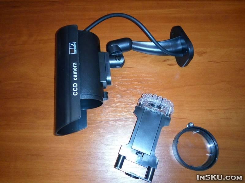 Как отличить муляж камеры от настоящей