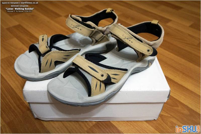 Lunar Ladies Walking Sandal JLT-Beige