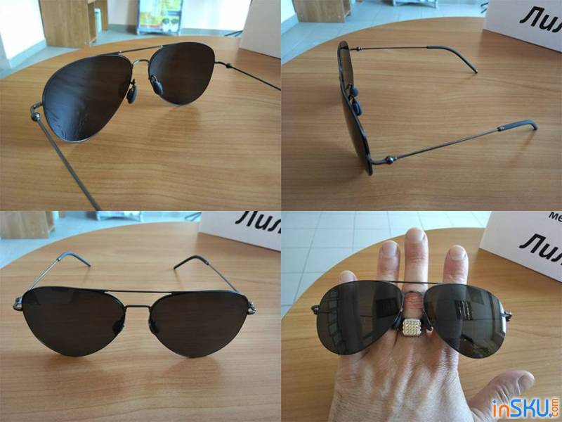 Xiaomi Anti-UV Polarized Sunglasses TS Nylon Lens. Обзор на InSKU.com