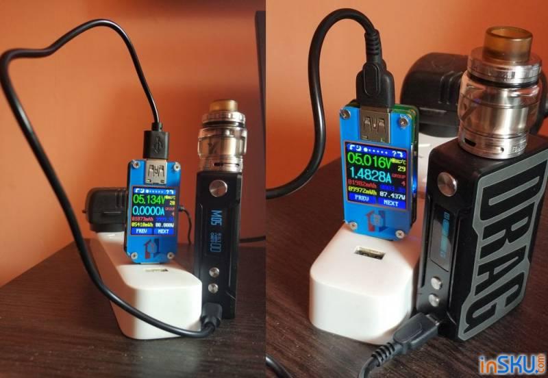 Обзор VOOPOO Drag Mini Mod — встроенная батарея и ВНЕЗАПНЫЙ