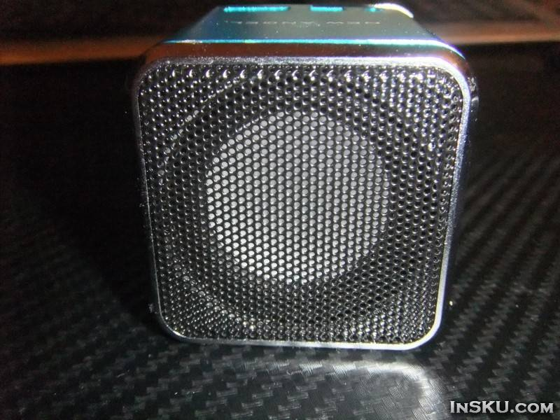 CX-A08 FM Radio 1.5inch Screen Supported TF USB ANT Mini Music Speaker with Cube Shape. Обзор на InSKU.com