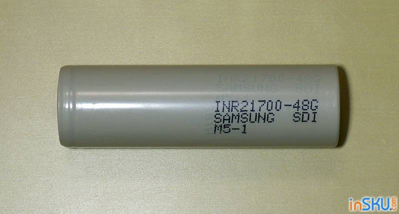 Больше чем 18650 - Sanyo NCR20700B, Samsung INR21700-48G и Queen Battery QB21700. Обзор на InSKU.com